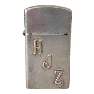 1960s Zippo Sterling Silver Lighter For Sale