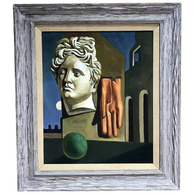 "After Gorgio De Chirico ""The Song of Love"" For Sale - Image 10 of 10"