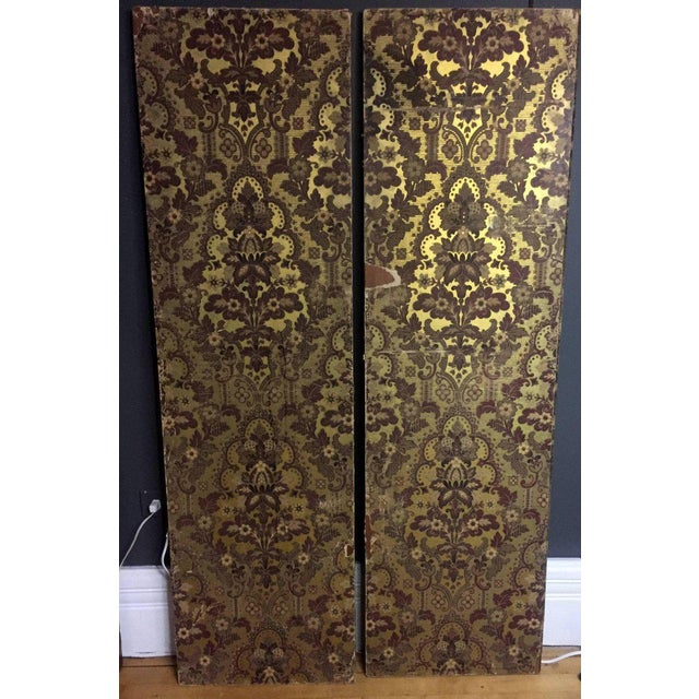 Late 19th Century Panels of 18th Century French Bookbinds For Sale - Image 10 of 11