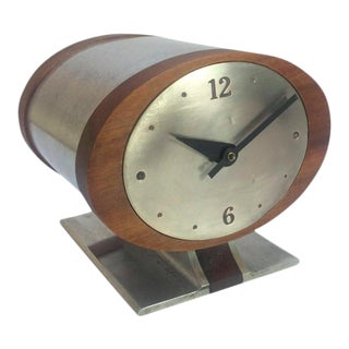 Vintage Nelson Style Sessions Desk Clock