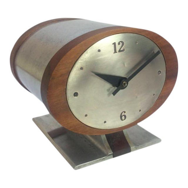 Vintage Nelson Style Sessions Desk Clock For Sale