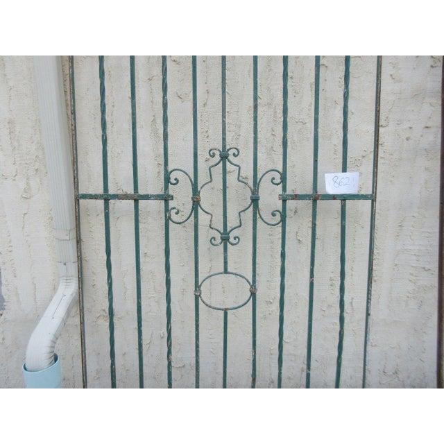 Antique Victorian Iron Gate - Image 4 of 8