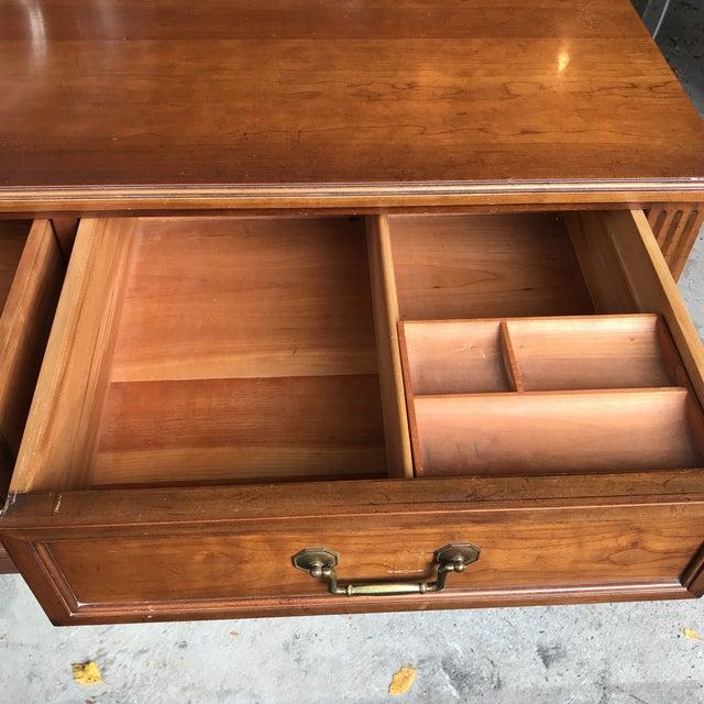 Vintage Kindel Belvedere Cherry Dresser - Image 7 of 10