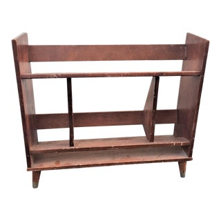 Mid-Century Small Bookshelf For Sale
