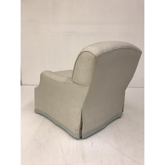 Transitional Century Furniture Lake Chair For Sale - Image 3 of 4