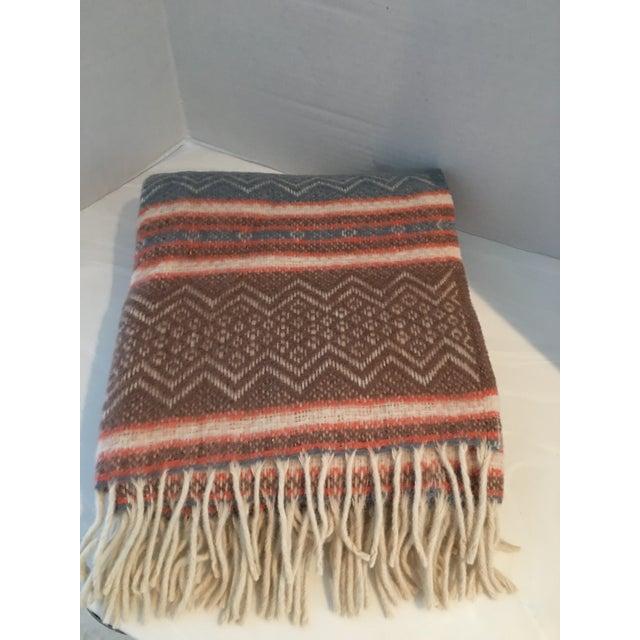 Vintage Southwestern Faribo Mesa Wool Blanket/Throw For Sale In Detroit - Image 6 of 6