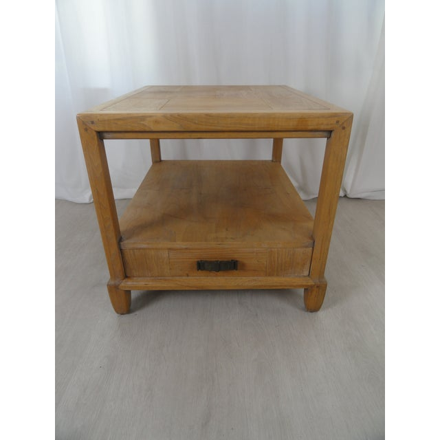 1970's Century Furniture End Table For Sale - Image 11 of 11