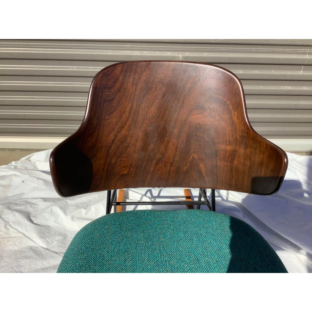 Authentic , iconic Penguin Rocker by ib Fofod Larsen. All original with the exception of new upholstery. Besides being a...