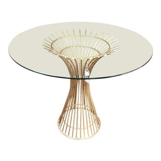 Worlds Away Iron Dining Table For Sale