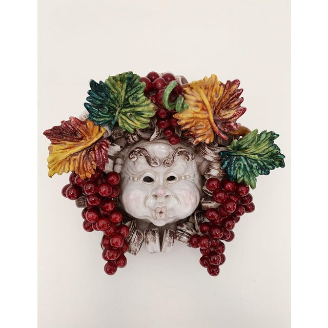 Apolito Italian Dionysus Wall Hanging Sculpture For Sale - Image 9 of 9