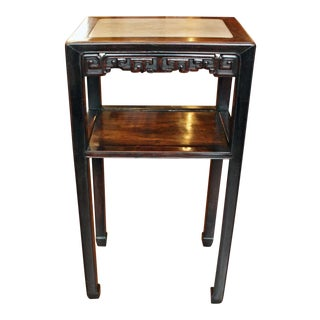 19th Century Chinese Rosewood Side Table For Sale