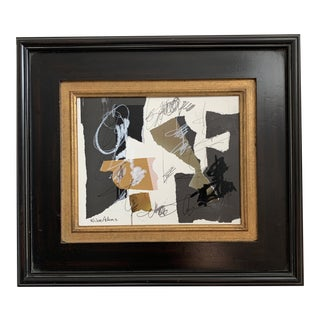 Abstract Collage by Joe Adams For Sale