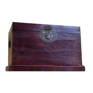 Antique Chinese Storage Trunk For Sale
