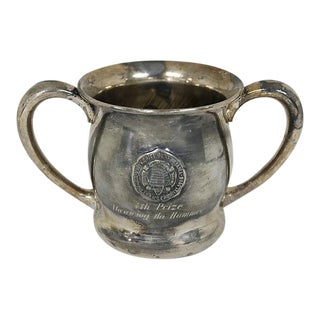 1916 University of PA Track/Field Trophy For Sale