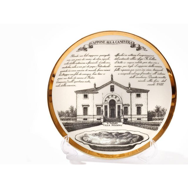 Fornasetti Set of six Vintage Plates For Sale In New York - Image 6 of 7