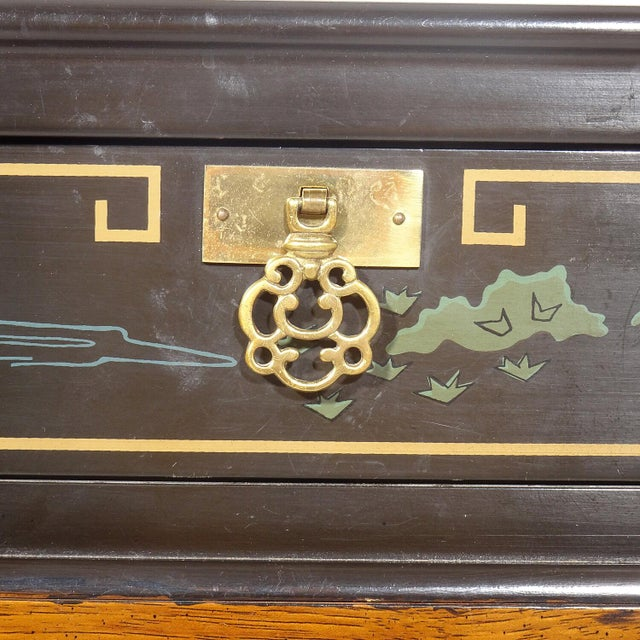 Drexel Heritage Chinoiserie Chippendale Side Table For Sale - Image 11 of 12