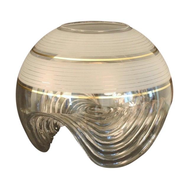 Murano Vase by Mazzega For Sale