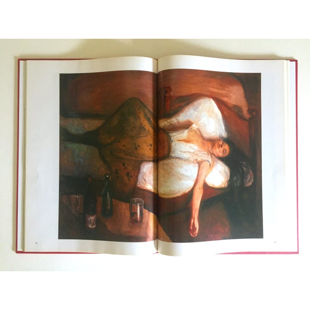 """"""" Munch """" First Edition Vintage 1990 Expressionist Hardcover Art Book For Sale - Image 4 of 13"""