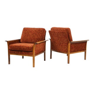 1960s Vintage Knut Sæter for Vatne Lounge Chairs - a Pair For Sale