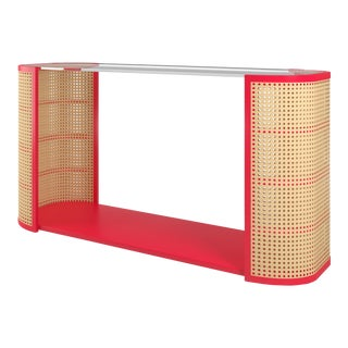 Lola Console Table - Bull's Eye Red For Sale