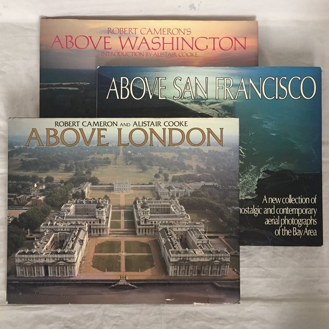 """Above London/San Francisco/Washington"" First Edition Photo/Art Books - Set of 3 For Sale - Image 9 of 9"
