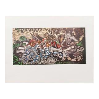 """1971 Picasso Parisian Period Photogravure """"Les Demoiselles Des Bords De La Seine For Sale"""