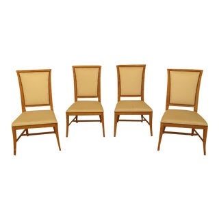 Baker Modern Design Upholstered Dining Room Chairs - Set of 4