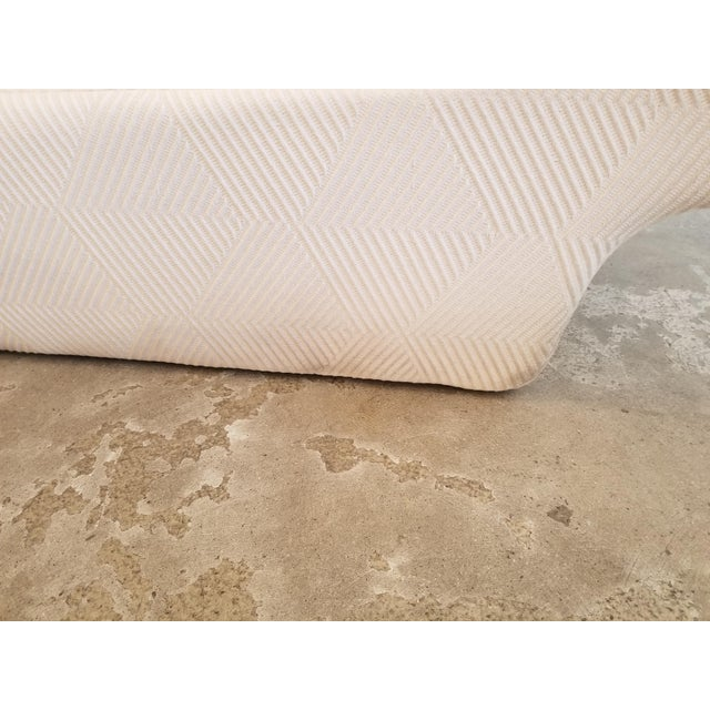 Cream Lounge Slipper Chair For Sale In Los Angeles - Image 6 of 10