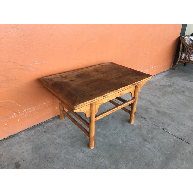 Vintage Chinese Low Table For Sale In Portland, OR - Image 6 of 8
