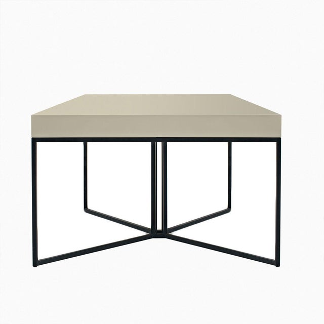 Gray Contemporary Side Table - Image 2 of 3