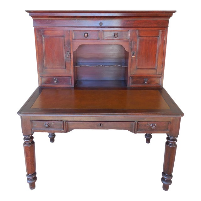Antique David Shearer Pennsylvania 2-Piece Plantation Desk - Antique David Shearer Pennsylvania 2-Piece Plantation Desk Chairish