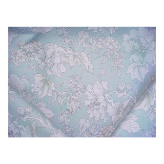 Nina Campbell Benington Flowering Branch Print Upholstery Fabric - 2 5/8 Yards For Sale
