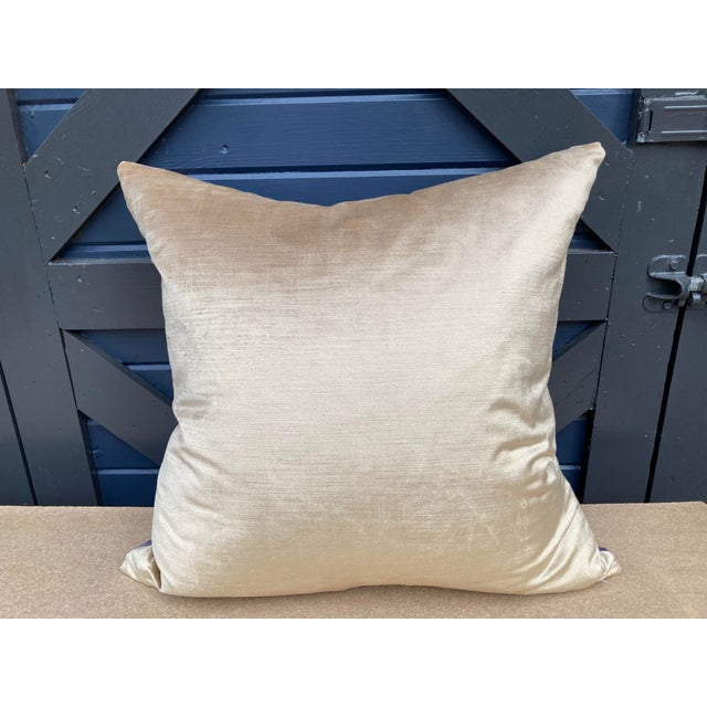 Traditional Fortuny Carnavalet Pillow For Sale - Image 3 of 5