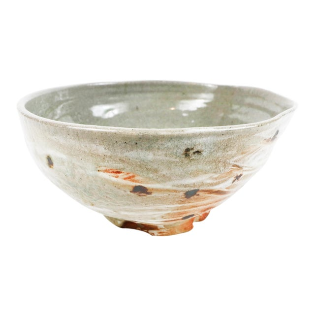 Soda-Fired Japanese Inspired Serving Bowl by Zachary Weber For Sale