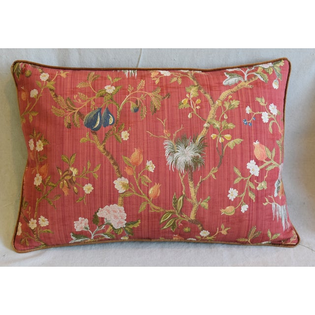 """Abstract Italian Scalamandre Melograno Silk Feather/Down Pillows 26"""" X 18"""" - Pair For Sale - Image 3 of 13"""