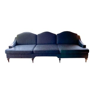 Mid Century Sofa - Curved Back For Sale