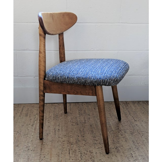 1960s Vintage Baumritter Style Side Chair For Sale In Raleigh - Image 6 of 11