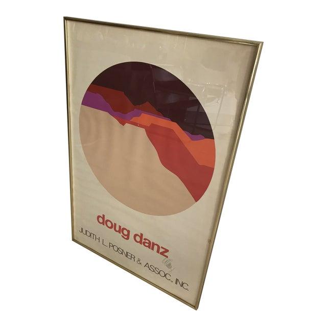 Vintage Doug Danz Framed Poster - Image 1 of 9