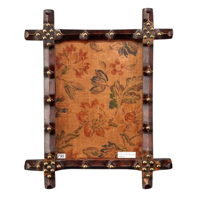 19th Century Small English Arts and Crafts Frame - Image 1 of 5