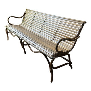 Vintage Bentwood Entryway Bench For Sale