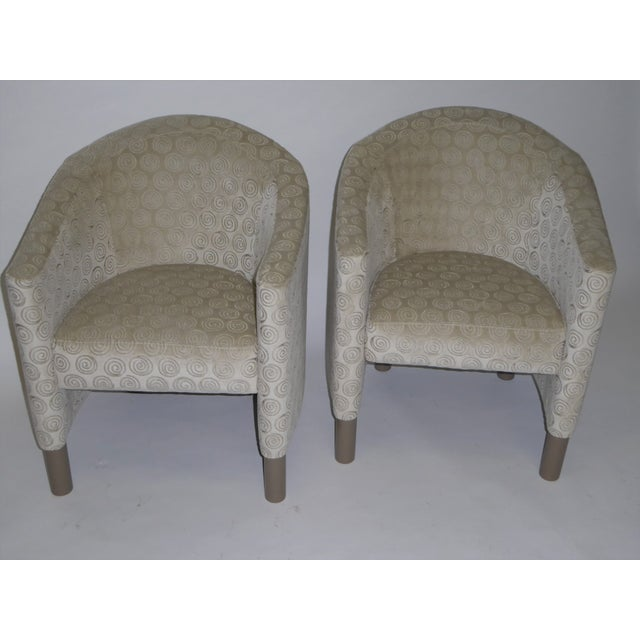 Pair of 1970s Brayton International Collection Modern Club Tub Armchairs For Sale - Image 12 of 13