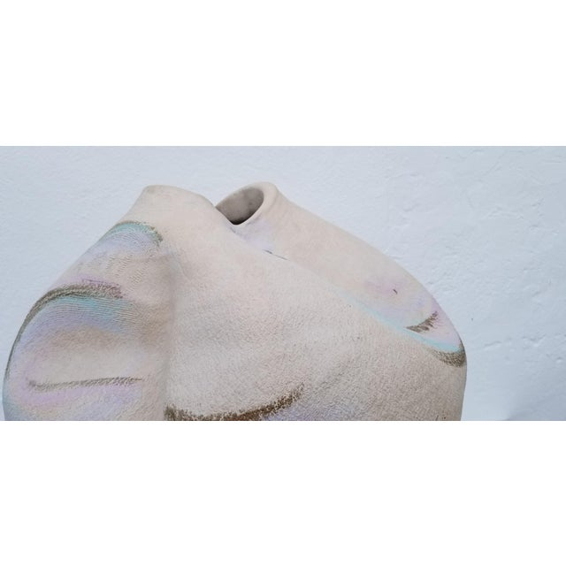 Ceramic 1980s Overscaled Artistic Studio Pottery For Sale - Image 7 of 12