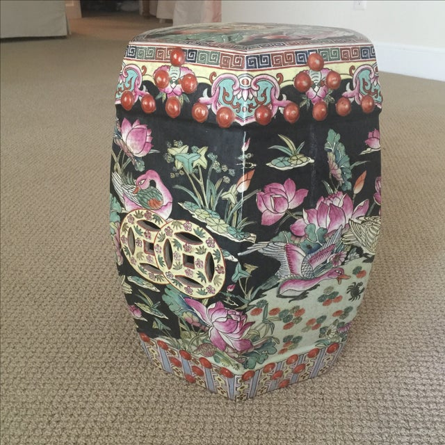 Chinoiserie Garden Stool - Image 6 of 9