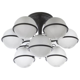 "1963 Gino Sarfatti Arteluce Manufactured Ceiling Lamp, Model ""2042/9"""
