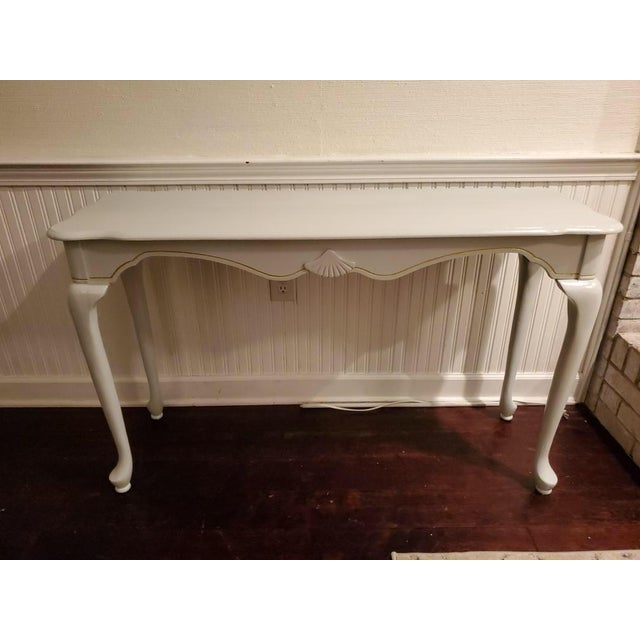 20th Century French Country French Country Console Table For Sale - Image 6 of 6