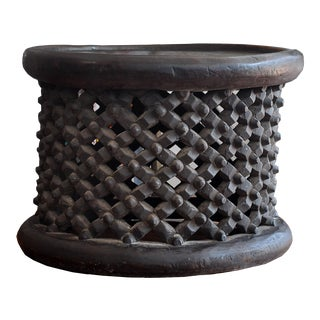 1990s African Bamileke Coffee Table For Sale