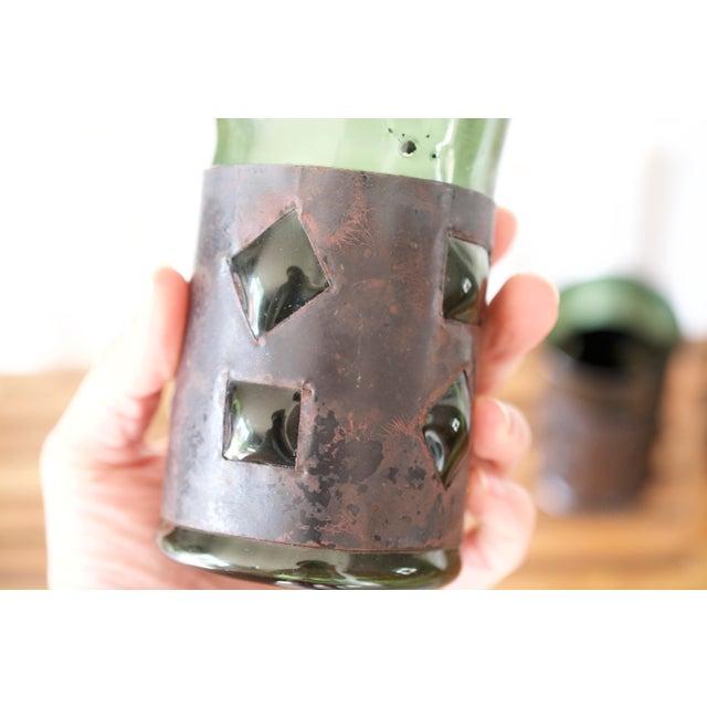1960s Mid-Century Brutalist Glass Tumblers by Felipe Derflinger - Set of 4 For Sale - Image 5 of 9
