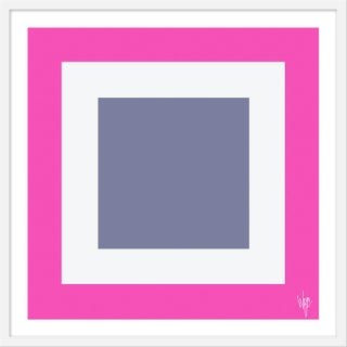 """Medium """"Squared Iii"""" Print by Wendy Concannon, 31"""" X 31"""" For Sale"""