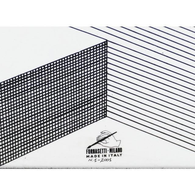 "Fornasetti Piero Fornasetti for Fornasetti-Milano, ""Scaletta"" Folding Screen, Signed 2001 For Sale - Image 4 of 13"