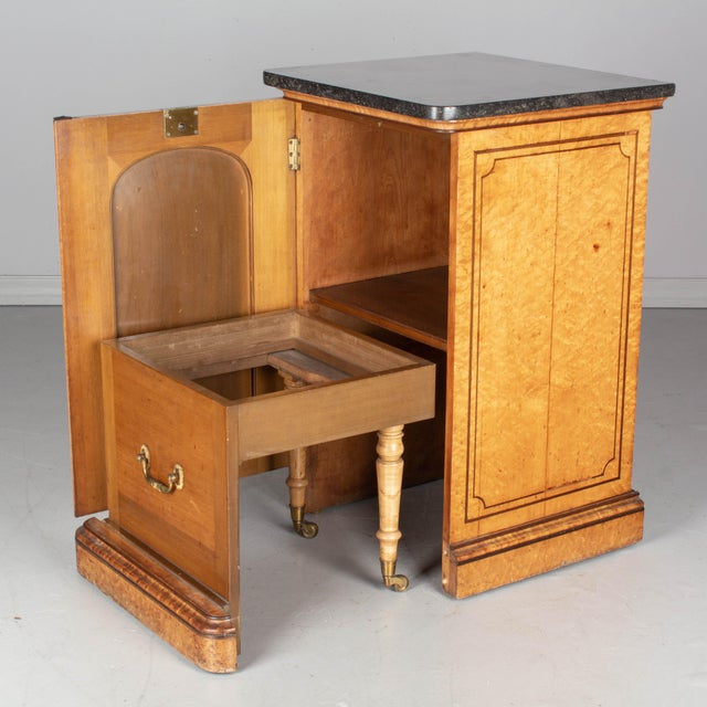 Brown 19th Century French Charles X Style Cabinet For Sale - Image 8 of 13